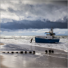 Gallery print  Fisherman - Baltic Sea - Mikolaj Gospodarek