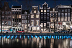 Wall sticker  Amsterdam Light Festival - Scott McQuaide