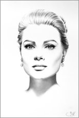 Canvas print  Grace Kelly - Ileana Hunter