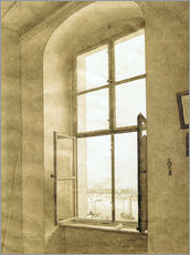 Gallery print  View from the studio - Caspar David Friedrich
