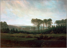 Wall sticker  Afternoon - Caspar David Friedrich