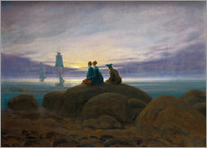 Gallery print  Moonrise by the Sea - Caspar David Friedrich