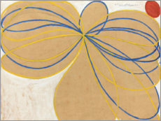 Canvas print  The Seven-Pointed Star, No. 1 - Hilma af Klint