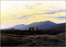 Wall sticker  Eldena Ruin - Caspar David Friedrich