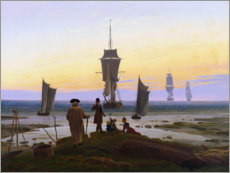 Foam board print  Stages of life - Caspar David Friedrich
