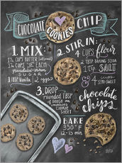 Gallery print  Chocolate chip cookies recipe. - Lily & Val