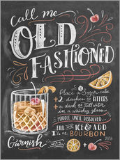 Gallery print  Old fashioned recipe - Lily & Val
