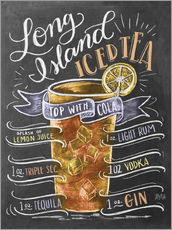 Gallery print  Long Island Ice Tea recipe - Lily & Val
