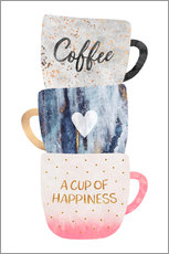 Wall sticker A cup of happiness