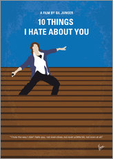 Gallery print  10 Things I Hate About You - chungkong