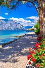 Gallery print  Beautiful Lago di Garda, Italy