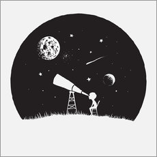 Wall sticker Looking into the stars