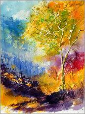 Wall sticker  Autumn tree - Pol Ledent