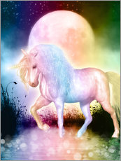 Gallery print  Unicorn, love yourself - Dolphins DreamDesign