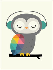 Gallery print  Owl time - Andy Westface