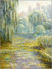 Gallery print  The Garden in Giverny - Blanche Hoschede-Monet
