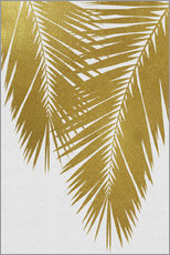 Gallery print  Palm Leaf Gold II - Orara Studio