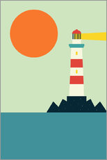 Wall sticker  Light House - Andy Westface