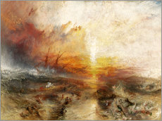 Wall sticker  The slave ship - Joseph Mallord William Turner