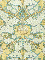 Wall sticker  Design with flowers - William Morris