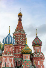Wall sticker  St. Basil's Cathedral at Red Square in Moscow - Click Alps