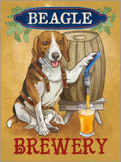 Gallery print  Beer Dogs IV - Mary Urban