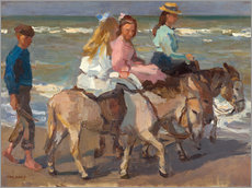 Gallery print  To ride a donkey - Isaac Israels