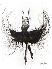 Wall sticker  The black swan - Ashvin Harrison