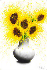 Premium poster Sunflower Song