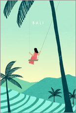 Premium poster  Illustration of Bali - Katinka Reinke