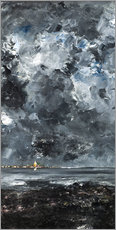 Premium poster  The town - August Johan Strindberg