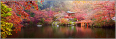 Foam board print  Japanese garden - Art Couture