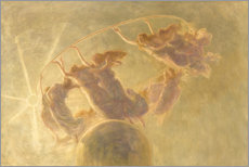 Acrylic print  Dance of the hours - Gaetano Previati