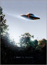 Premium poster  I Want To Believe - Nikita Abakumov
