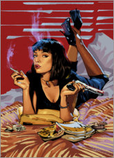 Canvas print  Pulp Fiction - Nikita Abakumov