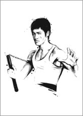 Canvas print  Bruce Lee - Tompico