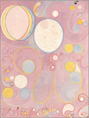 Canvas print  The Ten Largest, No. 8, Adulthood - Hilma af Klint