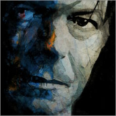 Canvas print  Chameleon - David Bowie - Paul Lovering