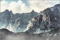 Wall sticker The Dachstein in Austria