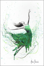 Premium poster Green dancer