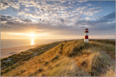 Aluminium print  Lighthouse on Sylt - Jan Christopher Becke