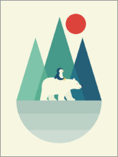 Foam board print  Bear You - Andy Westface