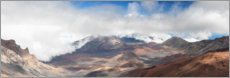 Canvas print  Haleakala crater on Maui - Circumnavigation