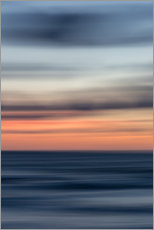 Acrylic print  Play of colors at the sea - Heiko Mundel