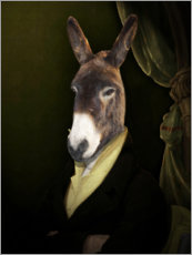 Premium poster  Donkey Jérome - Philippe Tyberghien