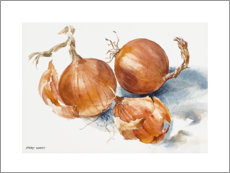 Premium poster  Onions - Mary Want