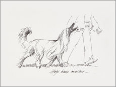 Gallery print  Dogs have masters - Mary Want