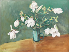 Gallery print  Still life with magnolia - Mary Want