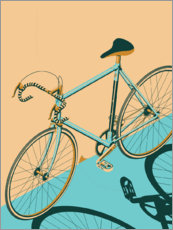 Canvas print  Isometric Bicycle - Wyatt9