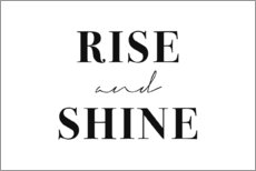 Canvas print  Rise and Shine - Pulse of Art